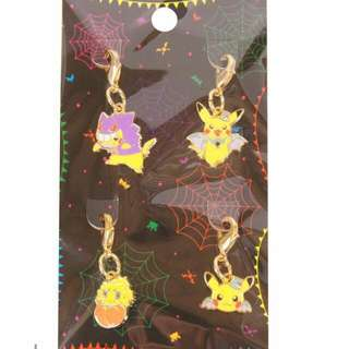 2015 Pokemon Halloween Charm Set