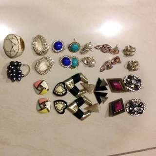 Earrings / Rings