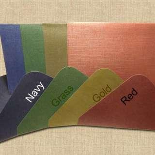 C6 Card & Matched Envelope