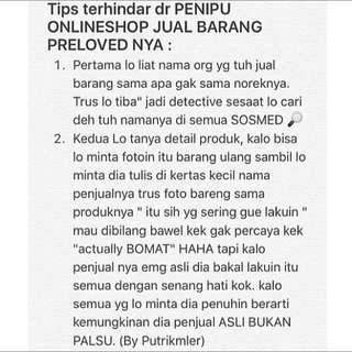 Tips Nih