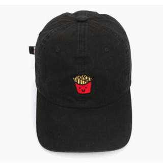 Authentic Black Millitage Fries Baseball Cap
