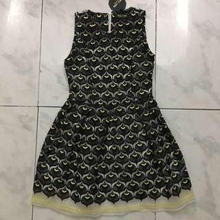 Black Peacock Dress