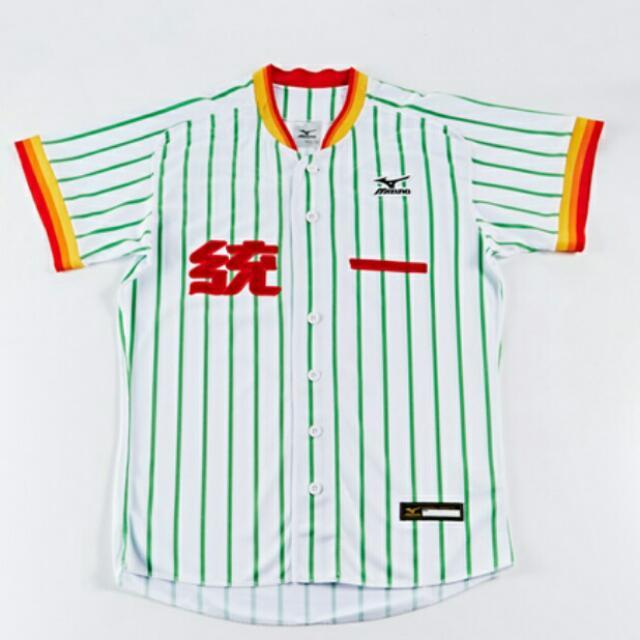 (全新)7-11統一獅傳統球衣