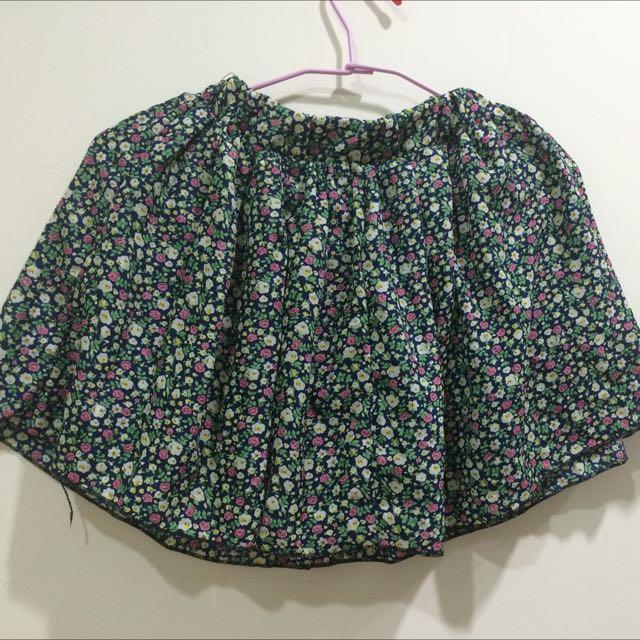 小碎花褲裙
