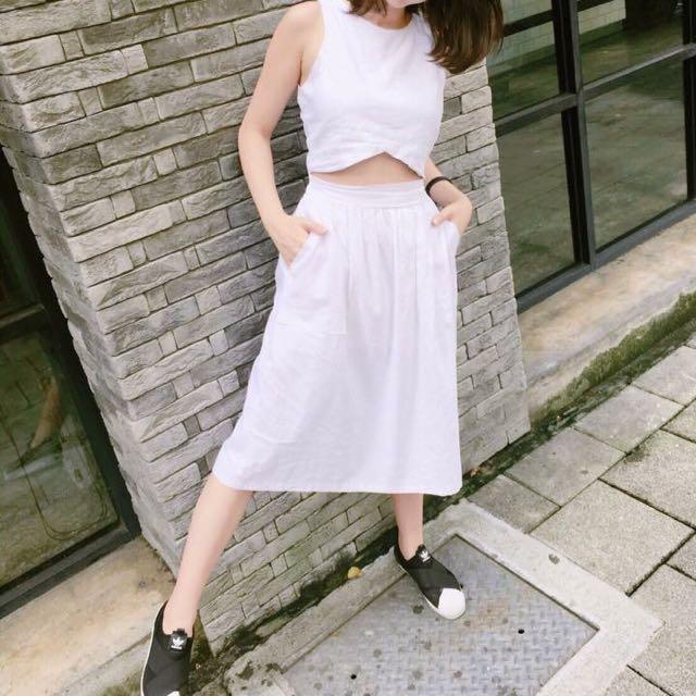 全新✨特別剪裁套裝裙