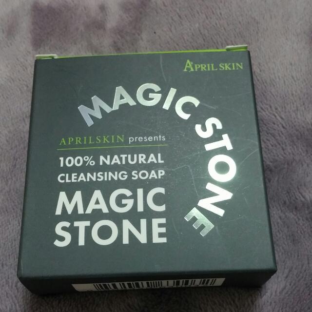 韓國天然魔法石潔顏皂(夜用大理石)