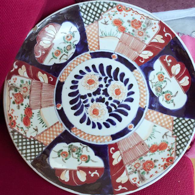 古物 陶瓷盤 歡迎出價