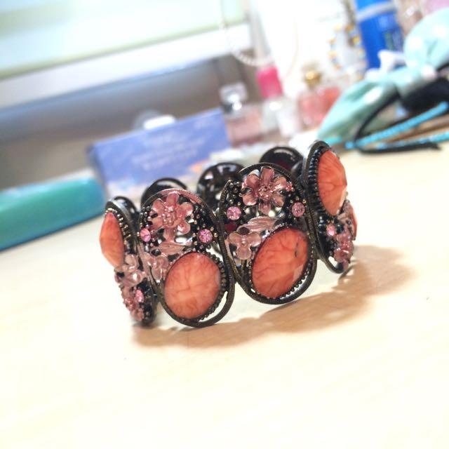粉紅寶石手鍊💕 新疆