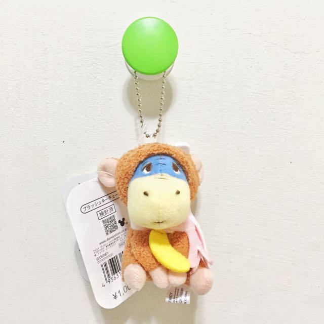 迪士尼 小熊維尼 屹耳 猴年限定 玩偶吊飾