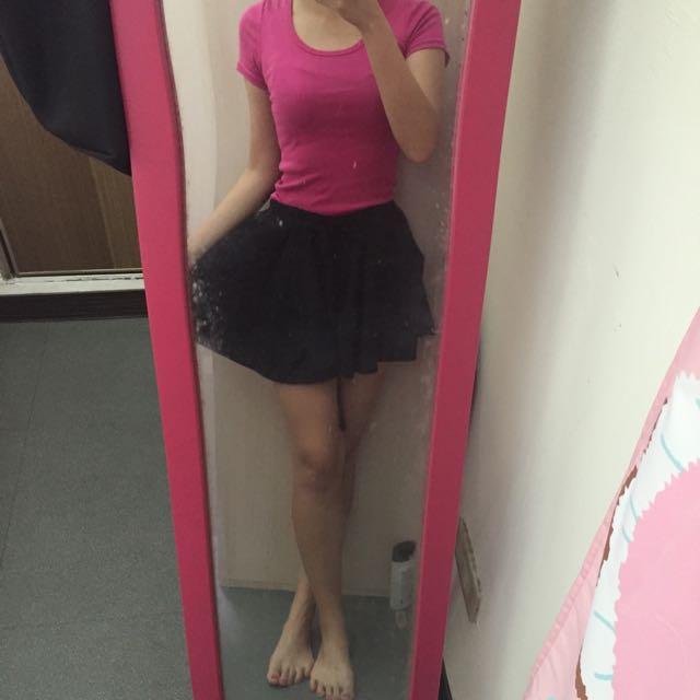 活力女孩 套裝組 素T4件+褲裙 ㄧ起賣