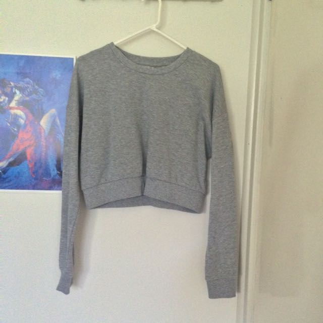 Asos Cropped Sweater Size 12