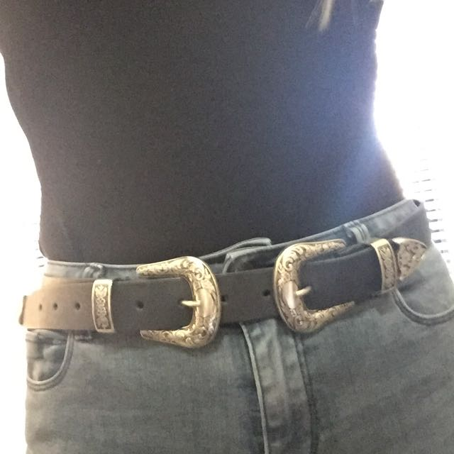 ASOS Western Double Buckle Belt 😍