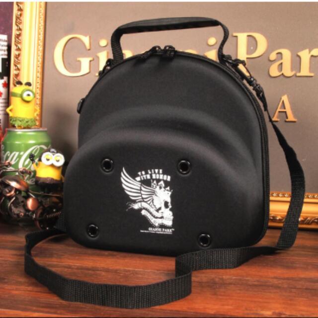 Authentic Black GianniPark Caps Storage Case (Small)