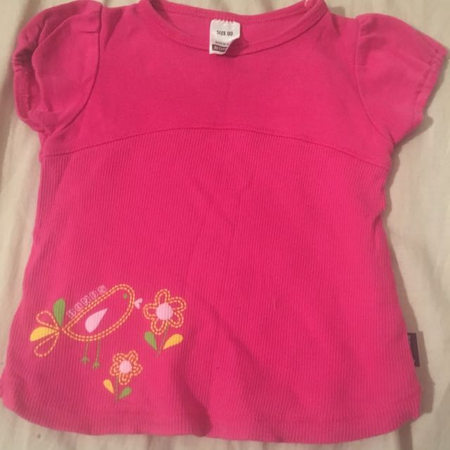 Baby Bonds Hot Pink Top Size 00
