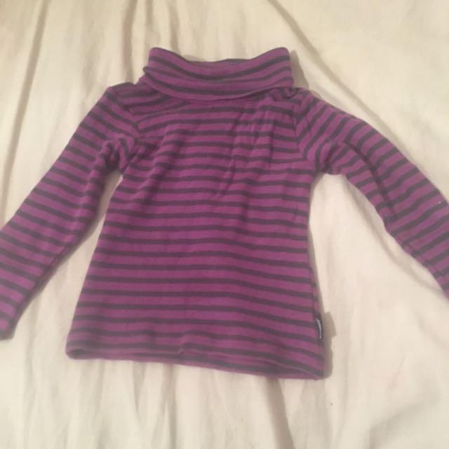 Baby Bonds Purple Skivvy Size 00