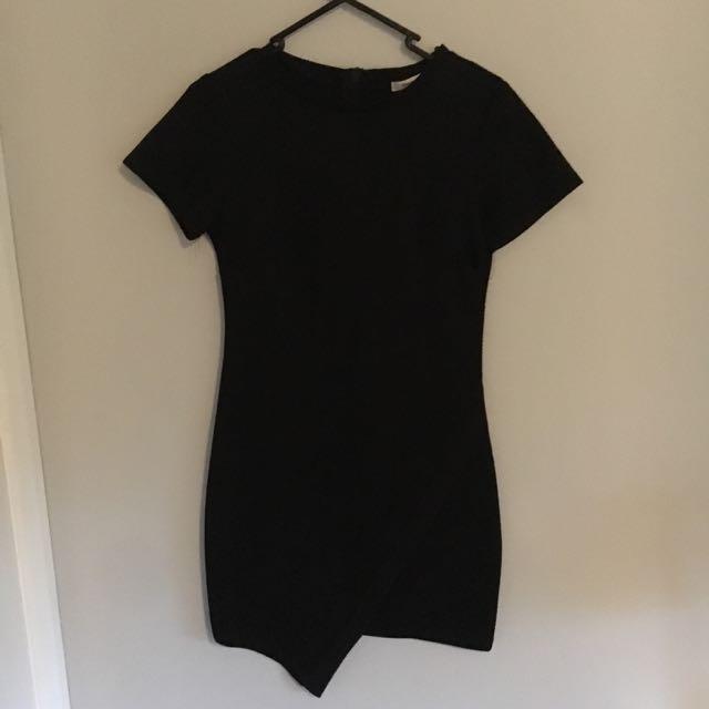 Black Body Con Dress Size 10