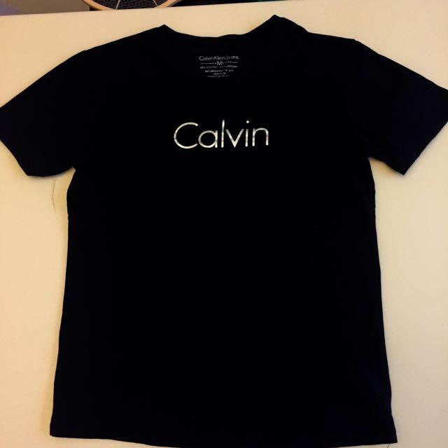 Calvin Klein ck 短t 基本款 Logo