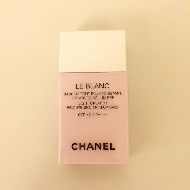 Chanel 香奈兒 珍珠光感超淨白防護妝前乳 #40 莓果色