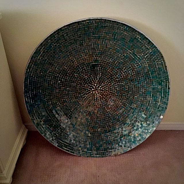 Circular Mosaic Stainless Glass