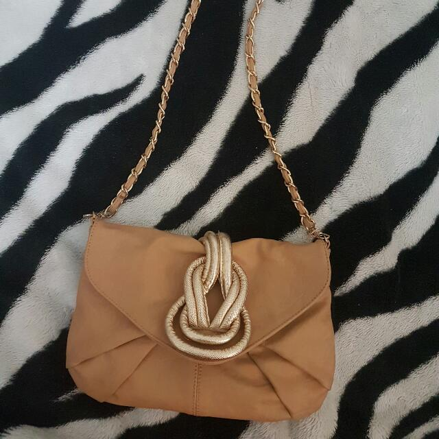 Colette Brown Snake Sidebag