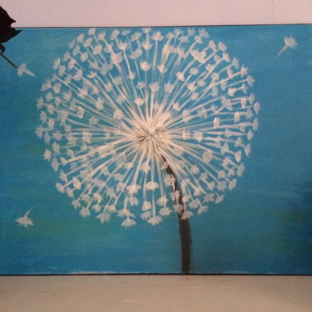 Dandelion Paining