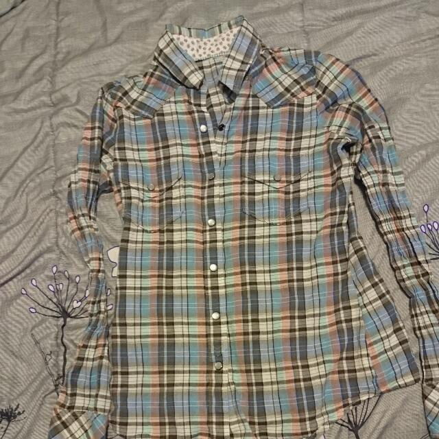 Element Plaid Long Sleeve