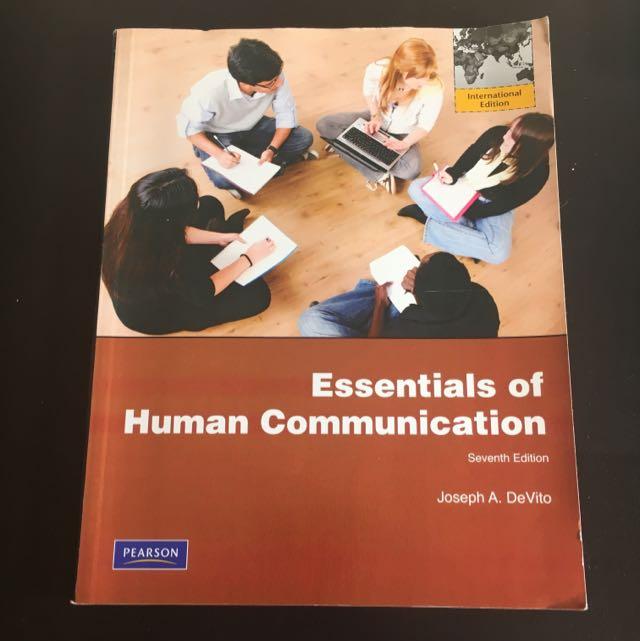 essentials of human communication (7th edition)