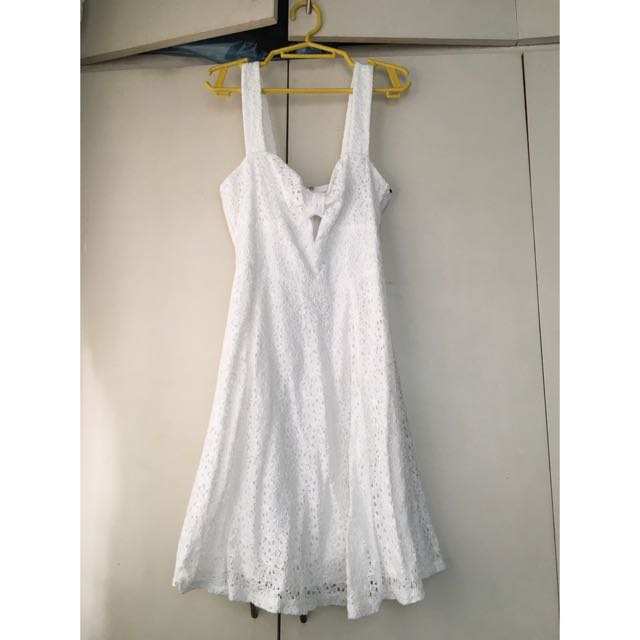 F21 Crochet Dress
