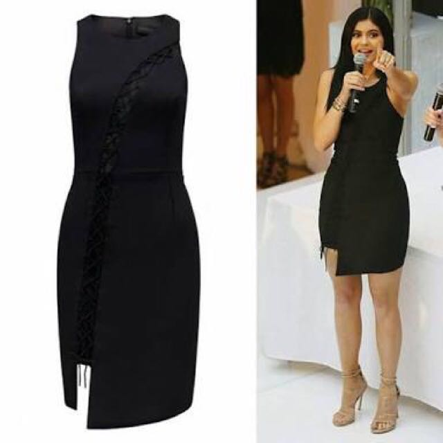 Forever new Kendall & Kylie Lace Up Dress