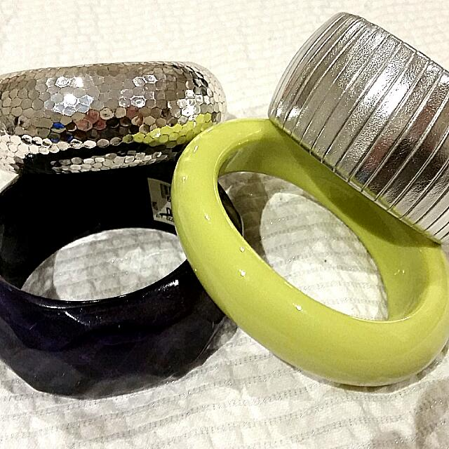 Four Assorted Bracelets.