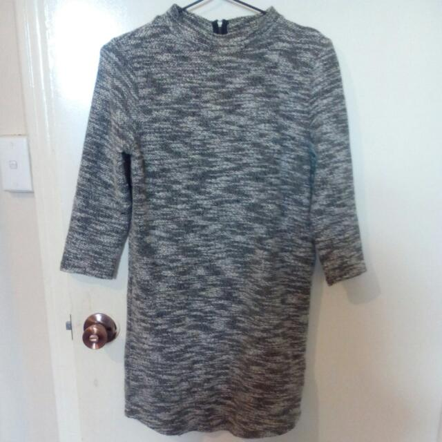 Grey Sports Girl Dress/top