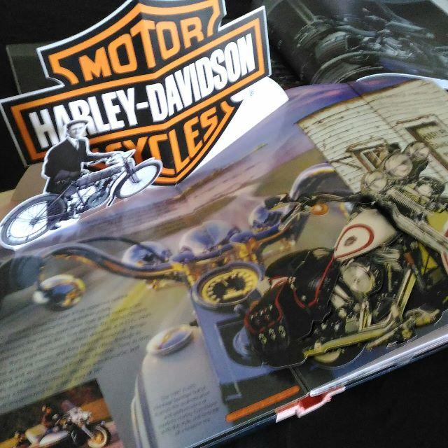 Harley Davidson Pop-Up Book  Collector's Item   Published