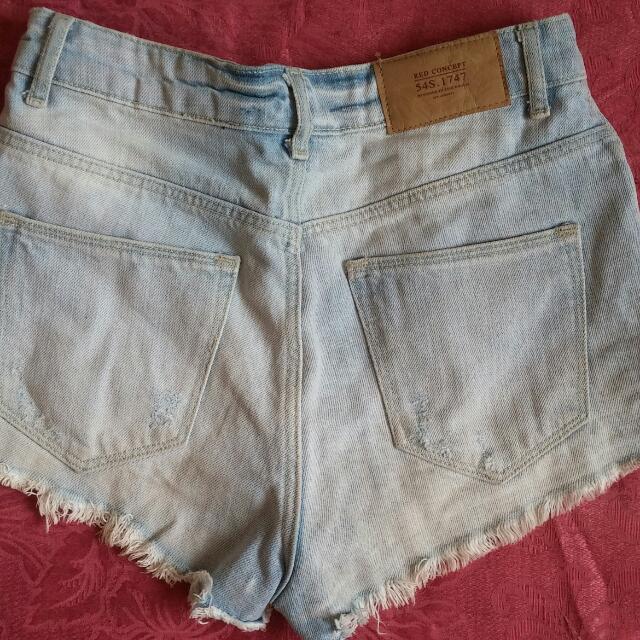 H&M High Waisted Jean Shorts