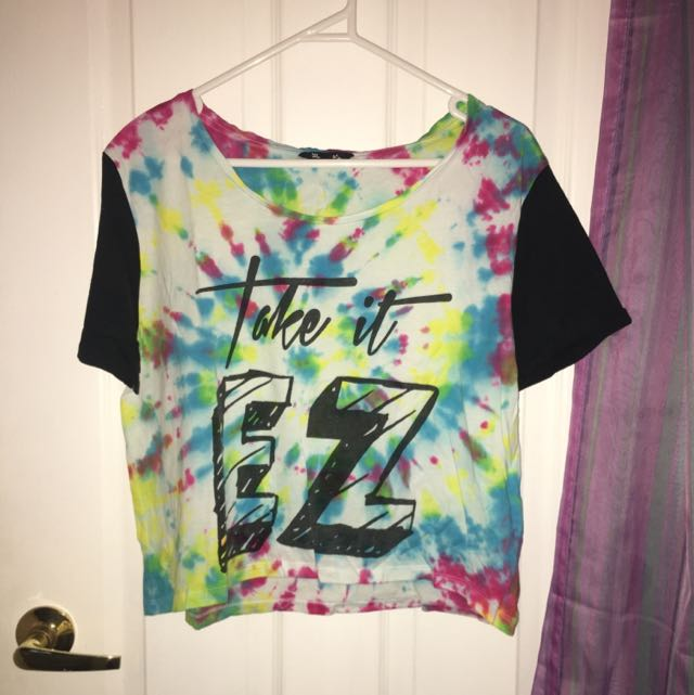 Home Made Tie Dye T Shirt