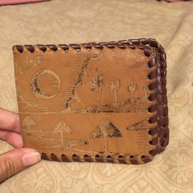 Homemade Wallet From Cuba