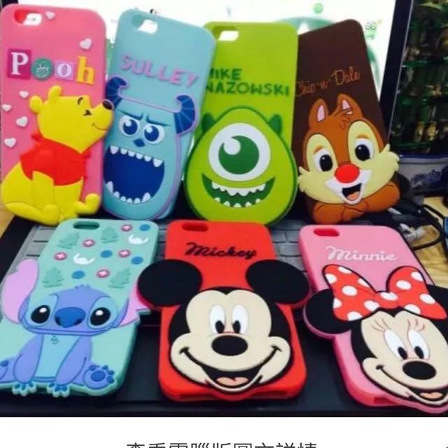 Iphone6/iPhone 6s卡通造型套