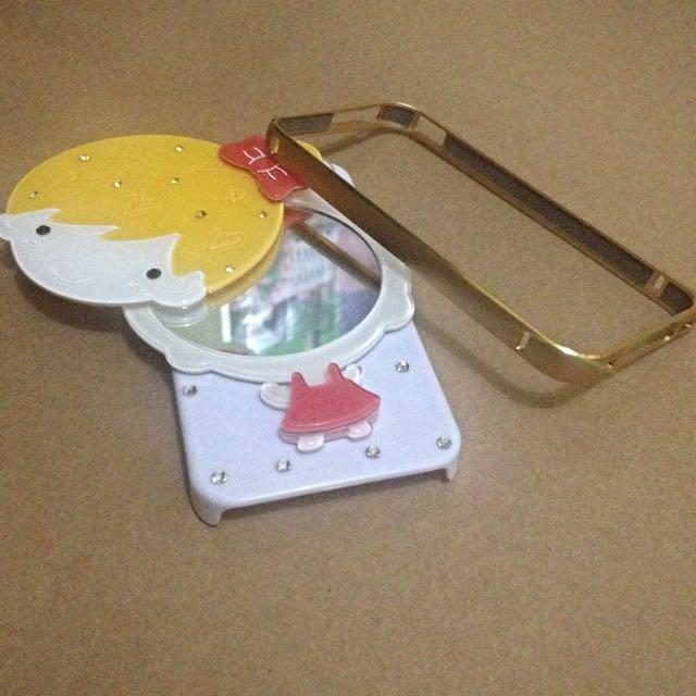 iPhone 4/4S Cases (Metal Bumper & Hard Case W/ Mirror)