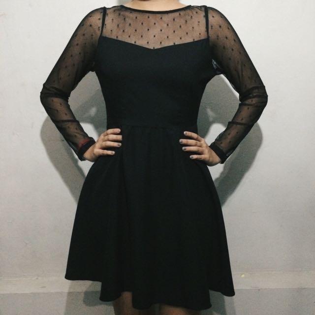 Mini Black Dress (Editors Market)