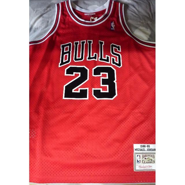 newest 04d3d a34b0 Mitchell and Ness (M&N) NBA Chicago Bulls 1988-1989 - Michael Jordan  Authentic Jersey Size 44 (L)