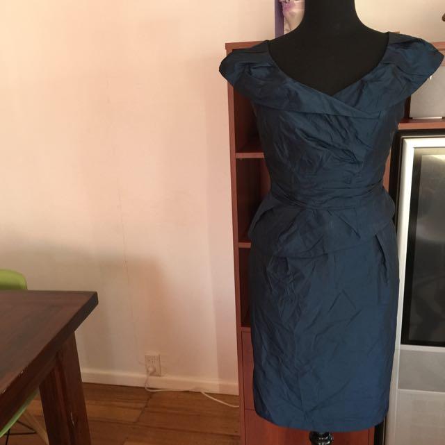 Navy dress Size 12