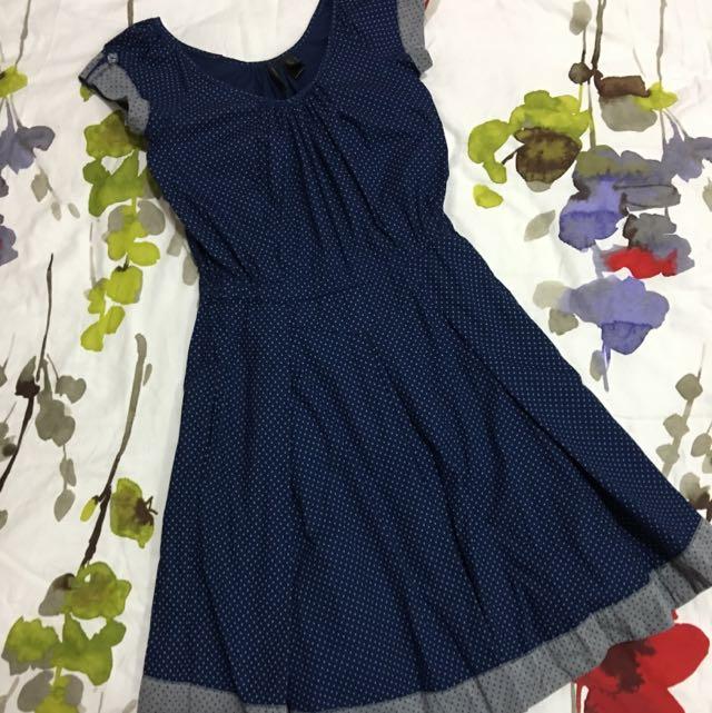 Original Mango Pleated Dress