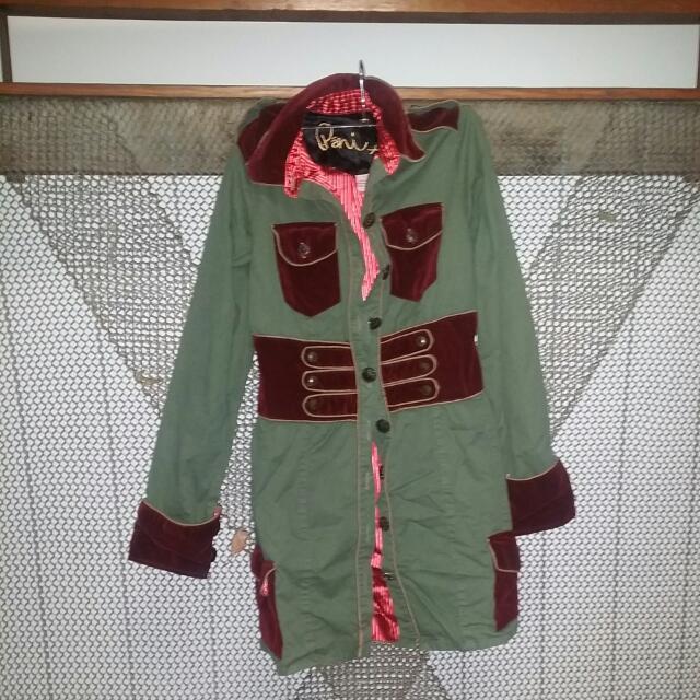 Pani Size 1 Marching Band Jacket