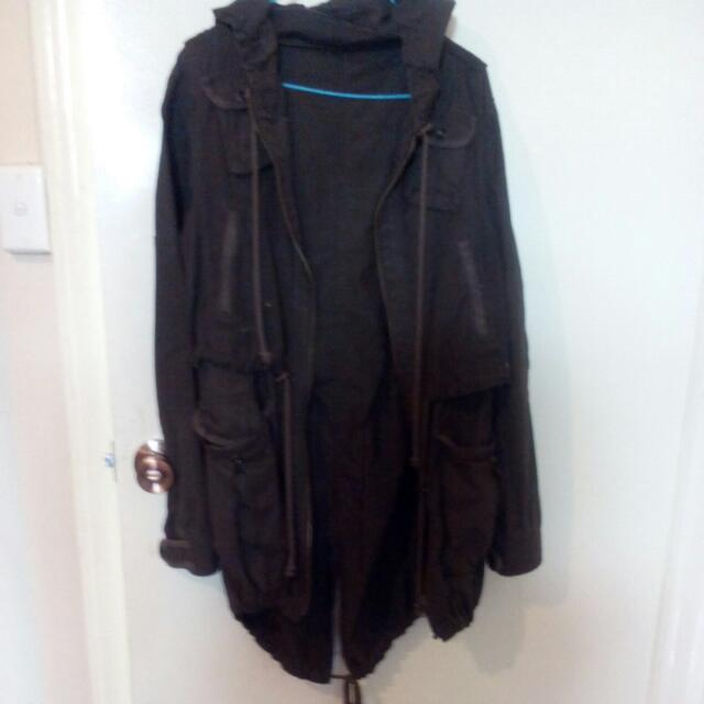 Parka Jacket, Brown