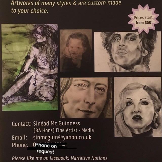 Personal Custom Made Portraits