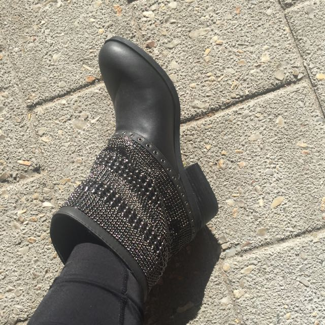 River Island Chainmail Boots 😍