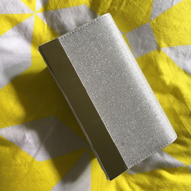 Silver Betts Clutch