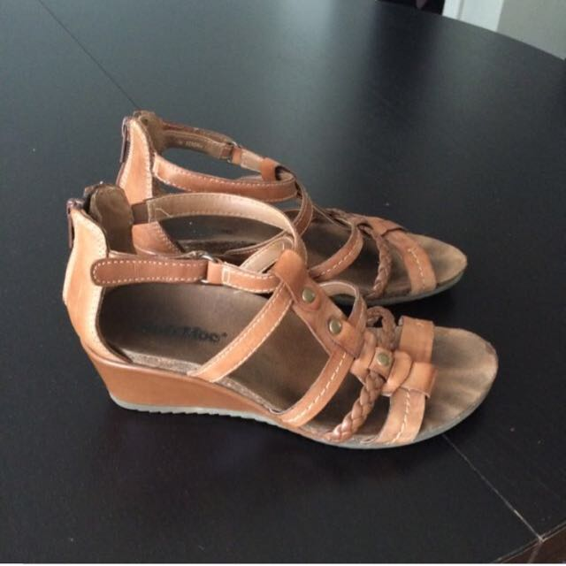 Soft Moc Wedge Sandals