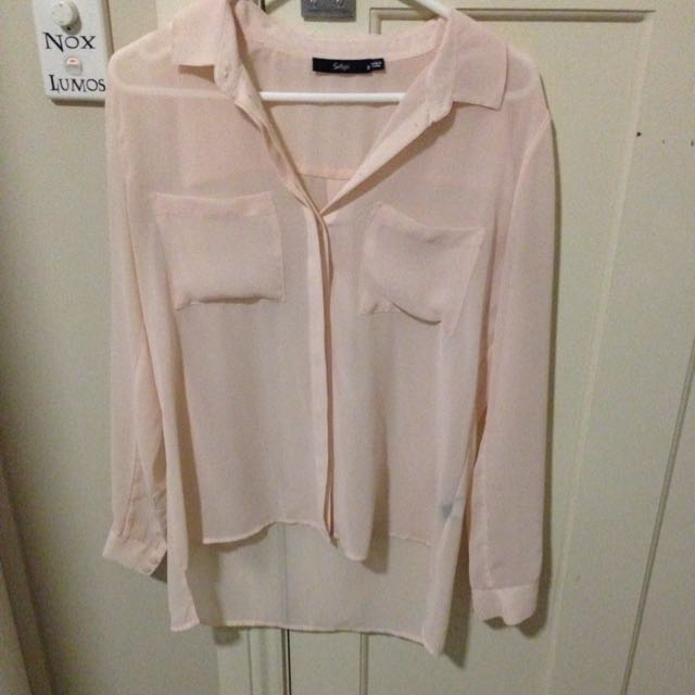 Sportsgirl Sheer Shirt