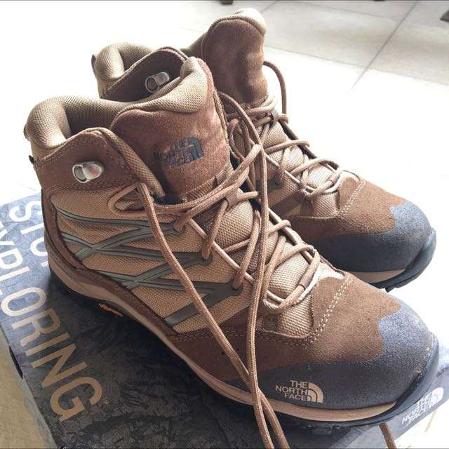 fbd1cc80a26 The North Face Women's Storm II Mid WP Hiking Boots on Carousell