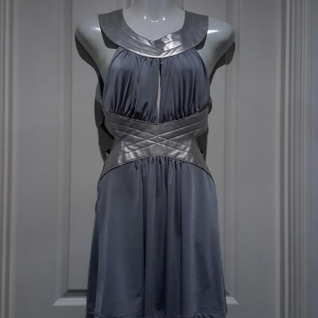 TRAC 6 Silver Grey Dress